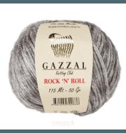 Пряжа GAZZAL Rock n Roll Цвет. 13255 Серый