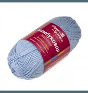 Пряжа Троицкая Бамбуковая Цвет.0270 Бледно-голубой