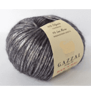 Пряжа GAZZAL Rock n Roll Цвет. 13254 Св.фиолетовый