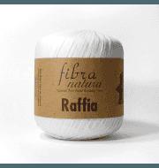 Пряжа Fibra Natura Raffia Цвет.116-01 Белый