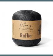 Пряжа Fibra Natura Raffia Цвет.116-12 Чёрный
