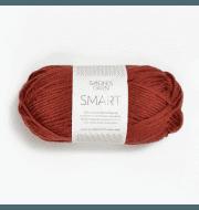 Пряжа SANDNES GARN Smart Цвет.4036 Brent terrakotta/терракот