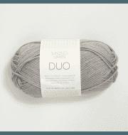 Пряжа SANDNES GARN Duo Цвет.6030 Lys gra/св.серый