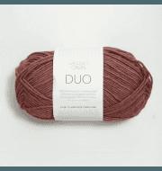 Пряжа SANDNES GARN Duo Цвет.4344 Mork pudderrosa/сухая роза