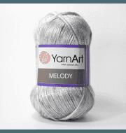 Пряжа YarnArt Melody Цвет.881 Серый меланж