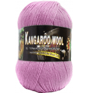 Пряжа Color City Kangaroo wool Цвет.926 азалия