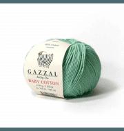 Пряжа GAZZAL Baby Cotton Gazzal Цвет.3425 Мята
