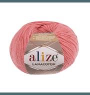 Пряжа Alize Lanacoton Цвет.265 Персик