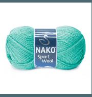 Пряжа Nako Sport Wool Цвет.10567