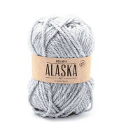 Пряжа DROPS Alaska Цвет.03m Light grey/св.серый