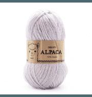 Пряжа DROPS Alpaca Цвет.8105 Light steel blue/джинсовый