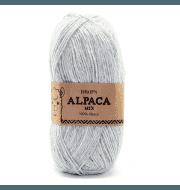 Пряжа DROPS Alpaca Цвет.9020m Light pearl grey/св.жемч.серый