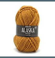 Пряжа DROPS Alaska Цвет.58 Mustard/горчичный