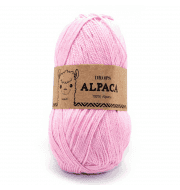 Пряжа DROPS Alpaca Цвет.3140 Light pink/св.розовый