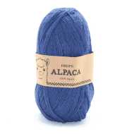 Пряжа DROPS Alpaca Цвет.6790 Dark blue/ т.синий