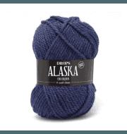 Пряжа DROPS Alaska Цвет.15 Midnight blue/т.синий