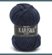 Пряжа DROPS Karisma Цвет.37 Dark grey blue/т.сер.гол