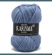 Пряжа DROPS Karisma Цвет.30 Light denim blue/св.синий