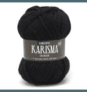 Пряжа DROPS Karisma Цвет.05 Black/черный