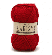 Пряжа DROPS Karisma Цвет.18 Red/красный