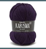 Пряжа DROPS Karisma Цвет.76 Dark purple/т.фиолет