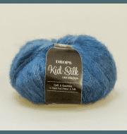 Пряжа DROPS Kid-Silk Цвет.27 Jeans blue/джинс