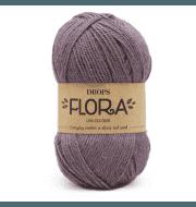 Пряжа DROPS Flora Цвет.09 Ametyst/аметист