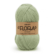Пряжа DROPS Flora Цвет.16 Pistachio/фисташка