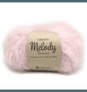Пряжа DROPS Melody Цвет.06 Powder pink/розовая пудра