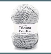 Пряжа DROPS Merino Extra Fine Цвет.05m Light grey/св.серый