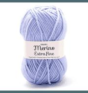 Пряжа DROPS Merino Extra Fine Цвет.14 Steel blue/стальной