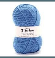 Пряжа DROPS Merino Extra Fine Цвет.23 Grey blue/ сер.голубой