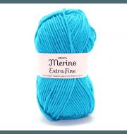 Пряжа DROPS Merino Extra Fine Цвет.29 Turquoise/бирюза