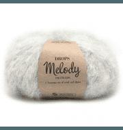 Пряжа DROPS Melody Цвет.03 Pearl grey/жемчужно-серый