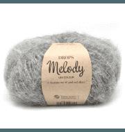 Пряжа DROPS Melody Цвет.04 Grey/серый