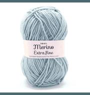 Пряжа DROPS Merino Extra Fine Цвет.15 Light greyish green/св.сер.зел.