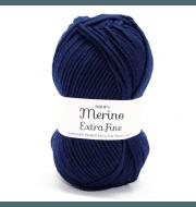 Пряжа DROPS Merino Extra Fine Цвет.27 Navy blue/т.синий