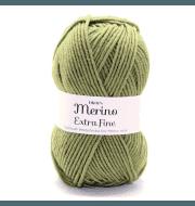 Пряжа DROPS Merino Extra Fine Цвет.18 Green/зеленый