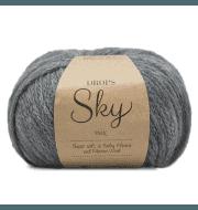 Пряжа DROPS Sky Цвет.04m Grey/серый