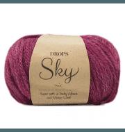 Пряжа DROPS Sky Цвет.10m Heather/вереск