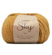 Пряжа DROPS Sky Цвет.17m Curry/карри