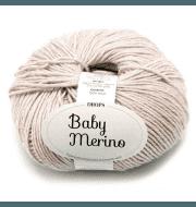 Пряжа DROPS Baby Merino Цвет.23m Light beige/св.беж