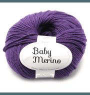 Пряжа DROPS Baby Merino Цвет.35 Dark purple/т.фиолет