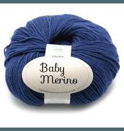 Пряжа DROPS Baby Merino Цвет.30 Blue/голубой