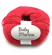Пряжа DROPS Baby Merino Цвет.16 Red/красный