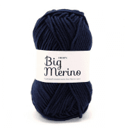 Пряжа DROPS Big Merino Цвет.17 Темно-голубой