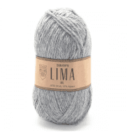 Пряжа DROPS Lima Цвет.9015m Grey/серый
