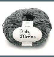 Пряжа DROPS Baby Merino Цвет.20m Dark grey/т.серый