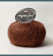 Пряжа Seam Angora Fine Цвет.191726 Черешня