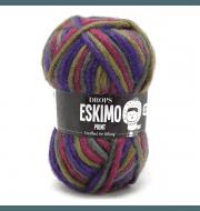 Пряжа DROPS Eskimo Цвет.18 фиол.хаки.фукс.меланж